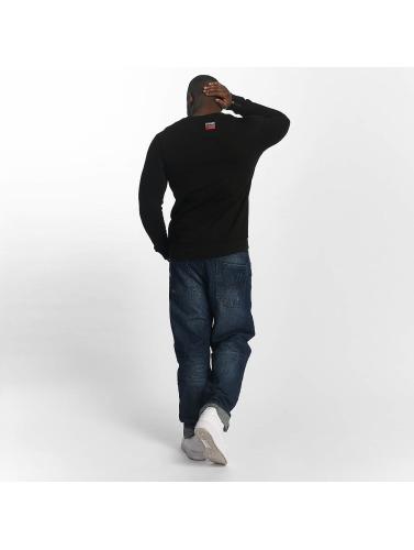 Dangerous DNGRS Herren Pullover Blanc in schwarz