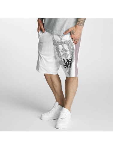 Dangerous DNGRS Herren Shorts Ornaments in weiß