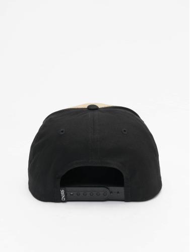 Dangerous DNGRS Herren Snapback Cap Mini Logo in braun
