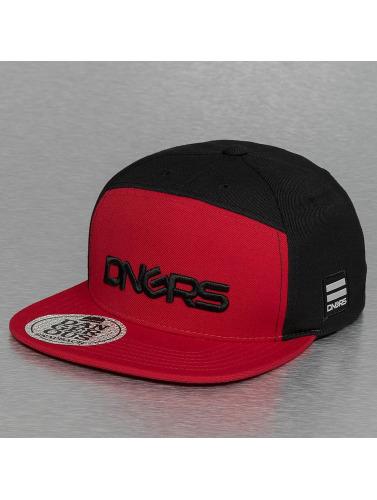 Dangerous DNGRS Snapback Cap Logo in schwarz
