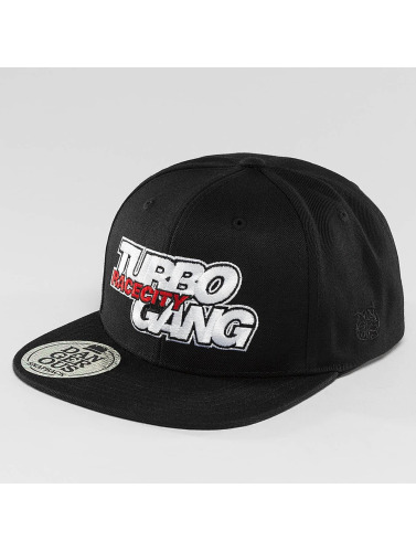 Dangerous DNGRS Snapback Cap Turbogang Race City in schwarz