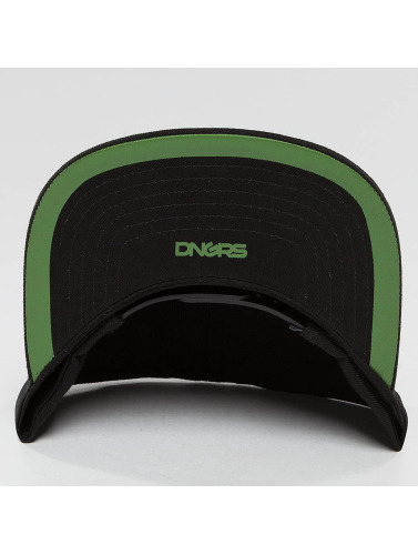 Dangerous DNGRS Snapback Cap LGNDZ Logo in schwarz