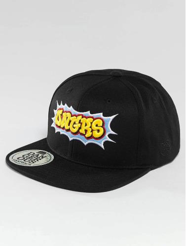 Dangerous DNGRS Snapback Cap Wildstyle Kings in schwarz