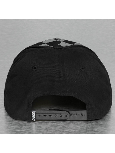 Dangerous DNGRS Herren Snapback Cap Plaid in schwarz