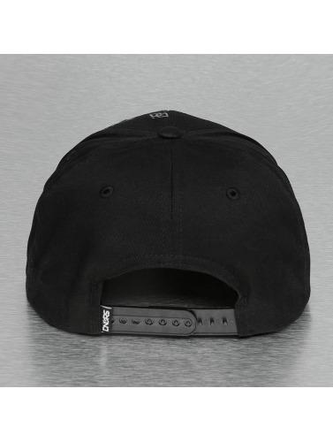 Dangerous DNGRS Snapback Cap Double D in schwarz