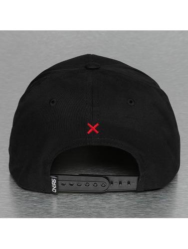 Dangerous DNGRS Herren Snapback Cap Grafitti in schwarz