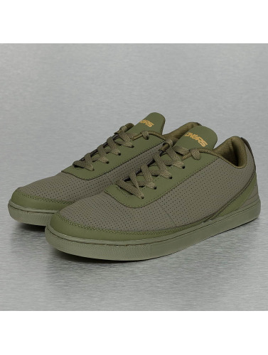 Dangerous DNGRS Herren Sneaker Perforated in olive