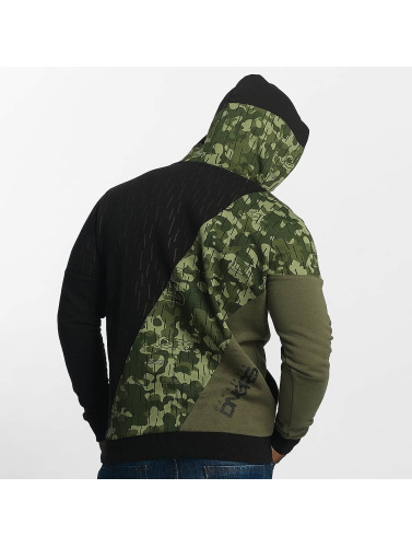 Dangerous DNGRS Hombres Sudadera Logo in camuflaje
