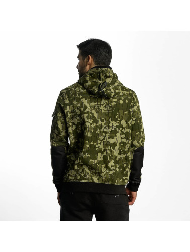 Dangerous DNGRS Hombres Sudadera DD in camuflaje
