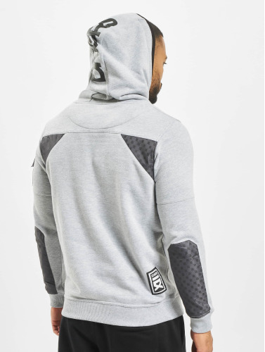 Dangerous DNGRS Hombres Sudadera DD in gris