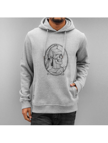 Dangerous DNGRS Hombres Sudadera Master in gris