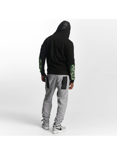 Dangerous DNGRS Hombres Sudadera DD in negro