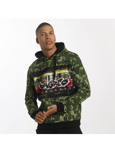 Dangerous DNGRS Hombres Sudadera Subwayfame in negro