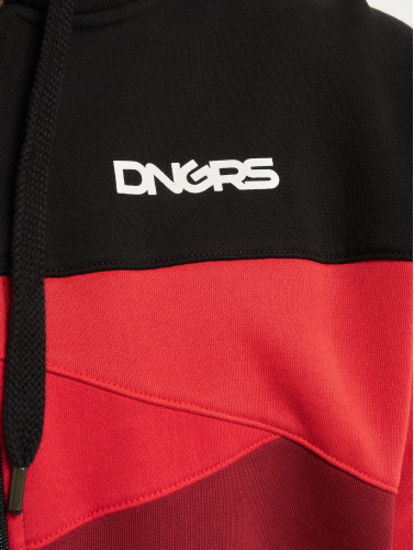 Dangerous DNGRS Hombres Sudaderas con cremallera Limited Edition II Race City in negro