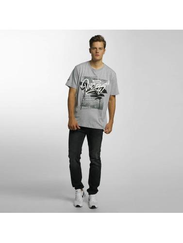 Dangerous DNGRS Herren T-Shirt Scratchwork in grau