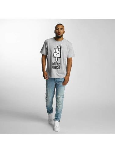 Dangerous DNGRS Herren T-Shirt Muttivator in grau