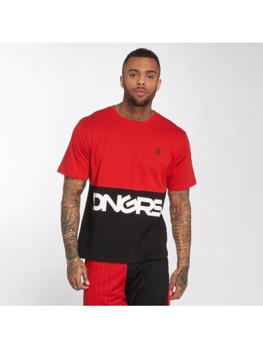Dangerous DNGRS Herren T-Shirt Big Logo in rot