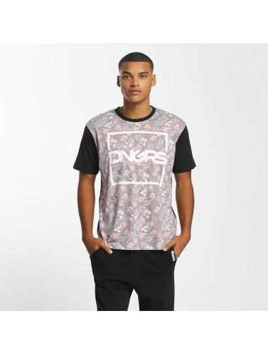 Dangerous DNGRS Herren T-Shirt Flower in schwarz