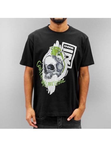 Dangerous DNGRS Herren T-Shirt Content Under Pressure in schwarz