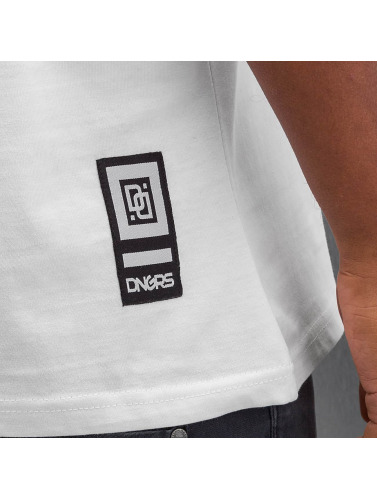 Dangerous DNGRS Herren T-Shirt Race City in weiß