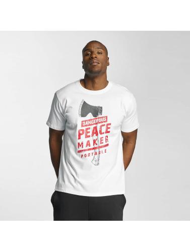 Dangerous DNGRS Herren T-Shirt Peacemaker in weiß
