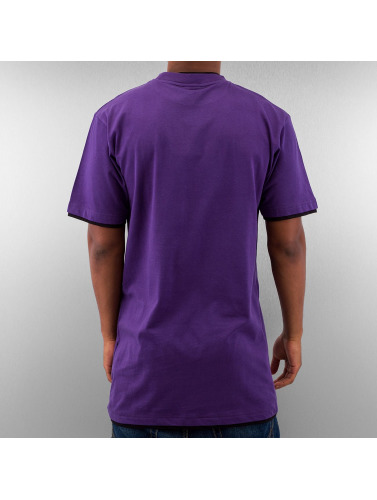 Dangerous DNGRS Herren Tall Tees Two Tone in violet