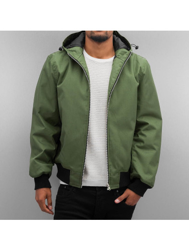 Dangerous DNGRS Herren Winterjacke Hooded in olive