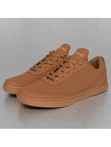 deporte de DNGRS in Dangerous marrón Zapatillas Hombres Perforated qISyfzw