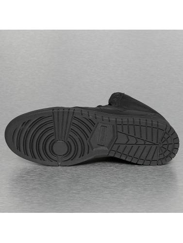 Dangerous DNGRS Hombres Zapatillas de deporte Small Logo in negro