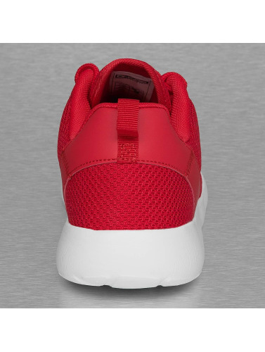 Dangerous DNGRS Hombres Zapatillas de deporte Mesh in rojo