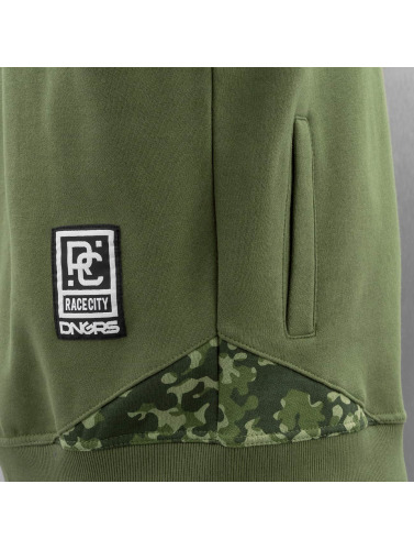 Dangerous DNGRS Herren Zip Hoodie Egzon Race City in camouflage