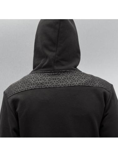 Dangerous DNGRS Herren Zip Hoodie Elephant in schwarz