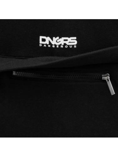 Dangerous DNGRS Herren Zip Hoodie Santos in schwarz
