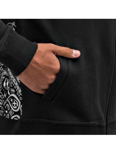 Dangerous DNGRS Herren Zip Hoodie Crimes & Rhymes in schwarz