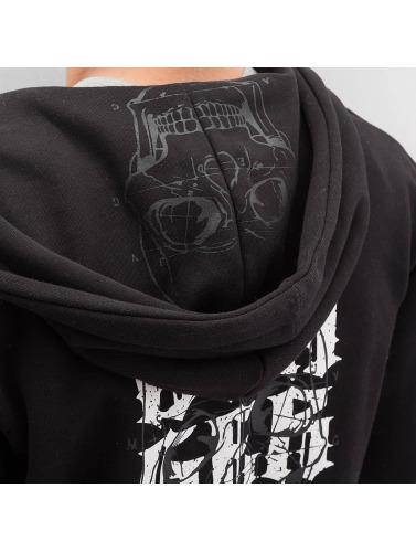 Dangerous DNGRS Herren Zip Hoodie Atomic in schwarz
