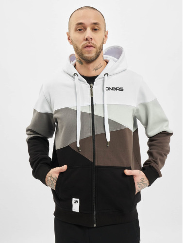 Dangerous DNGRS Herren Zip Hoodie Limited Edition II in weiß