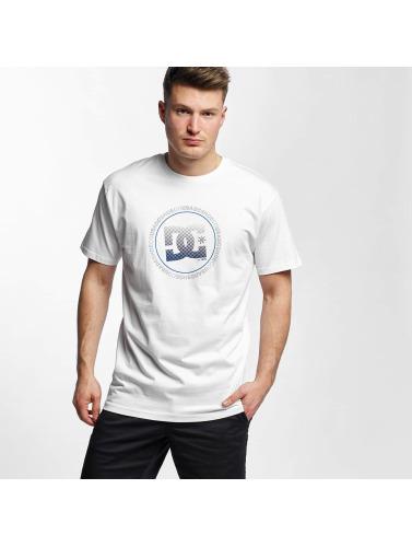 DC Hombres Camiseta Way Back Circle in blanco