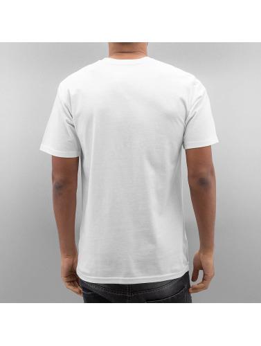 DC Hombres Camiseta Rebuilt in blanco