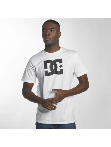 DC Hombres Camiseta Star in blanco