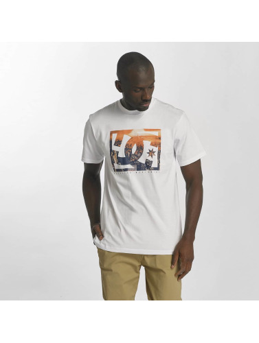 DC Hombres Camiseta Empire Henge in blanco