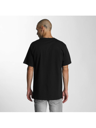 DC Hombres Camiseta Rusto in negro