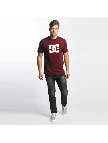 DC Hombres Camiseta Star in rojo