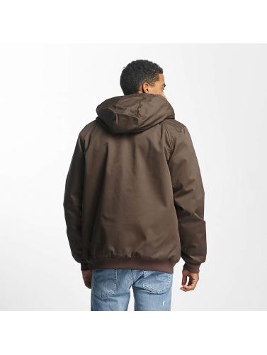 DC Hombres Chaqueta de invierno Ellis 4 in marrón