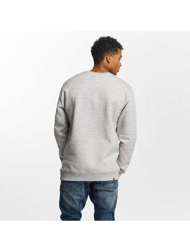 DC Hombres Jersey Squareside in gris