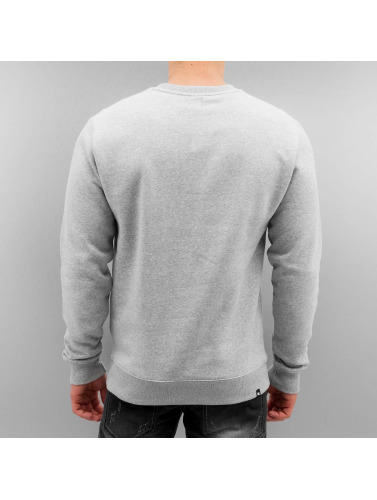 DC Herren Pullover Legendz Star in grau