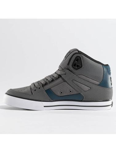 DC Herren Sneaker Spartan High WC in grau