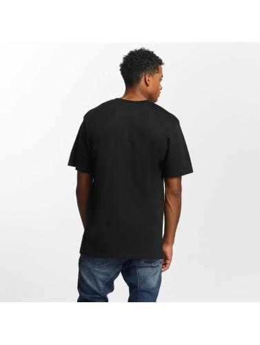 DC Herren T-Shirt Melton in schwarz