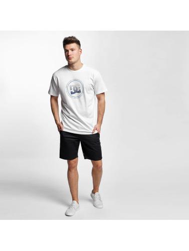 DC Herren T-Shirt Way Back Circle in weiß