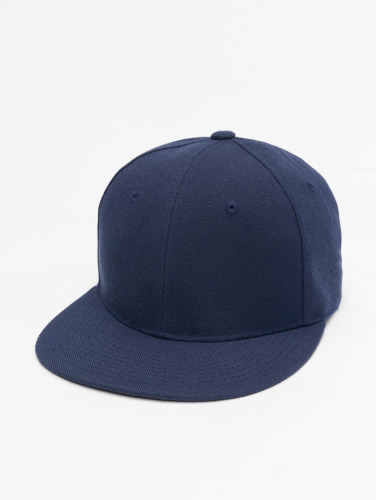 Decky USA Fitted Cap Flat Bill in blau