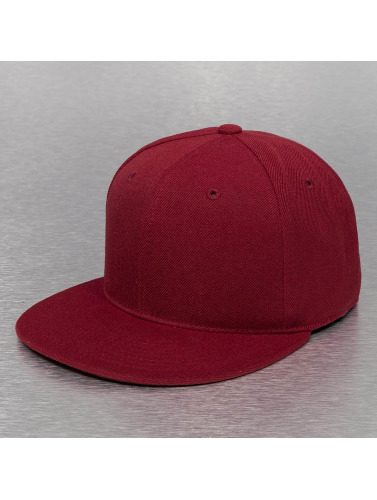 Decky USA Fitted Cap USA Flat Bill in rot